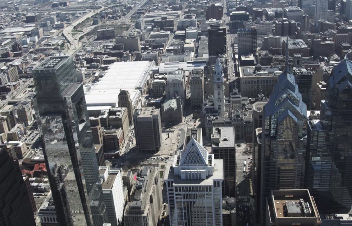 Aerial Footage – Philadelphia – 2