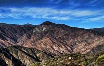 California Mountains Timelapse