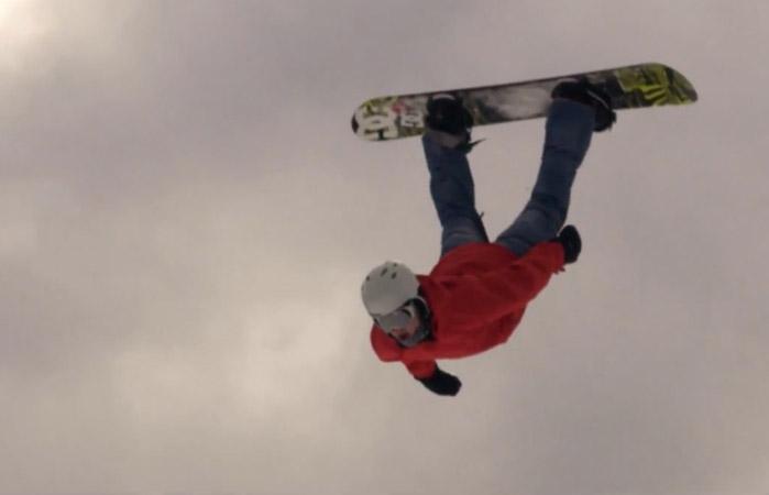 Hang Time – Snowboarding