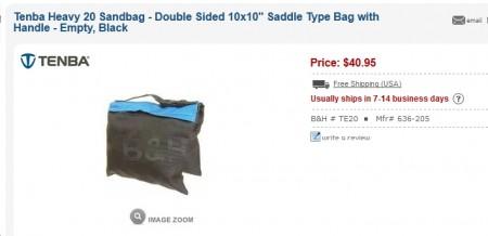 expensive sandbags