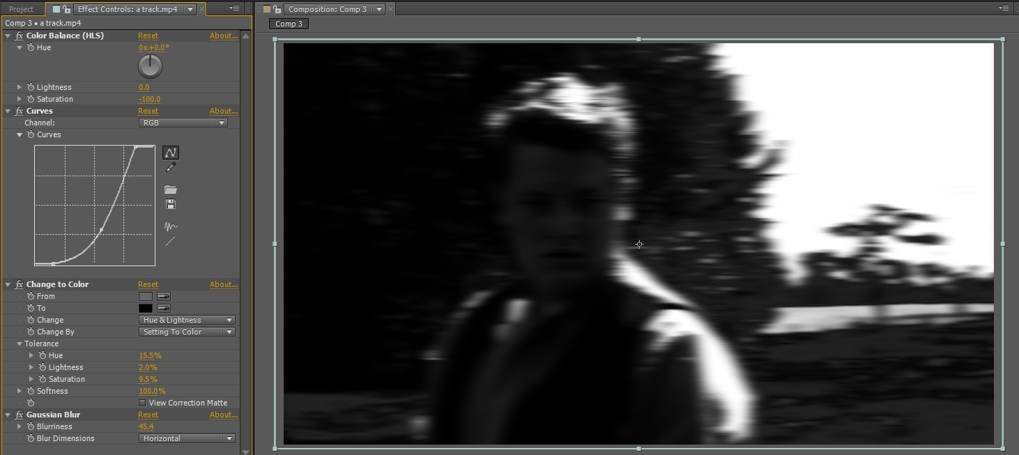 gaussian blur - step 4