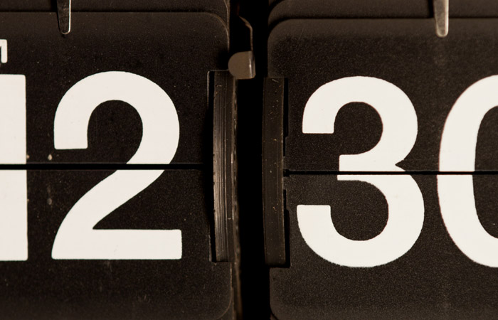 Flip Clock 2 – 12:30am