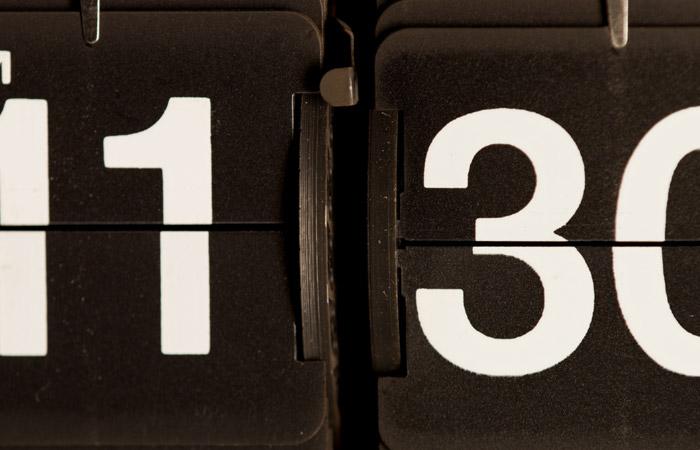 Flip Clock 24 – 11:30am