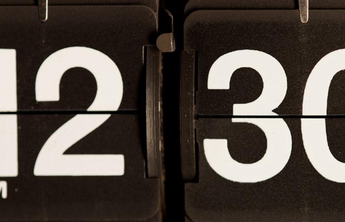 Flip Clock 26 – 12:30pm