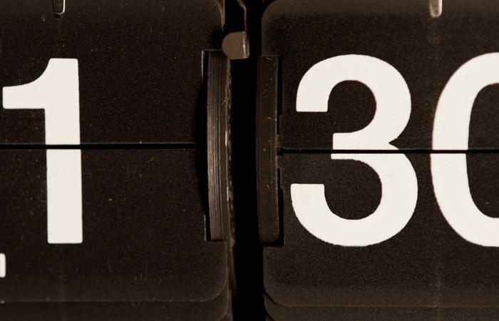 Flip Clock 28 – 1:30pm