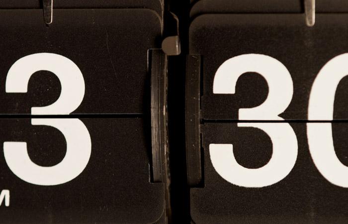 Flip Clock 32 – 3:30pm