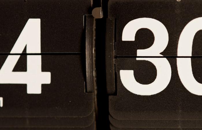 Flip Clock 34 – 4:30pm