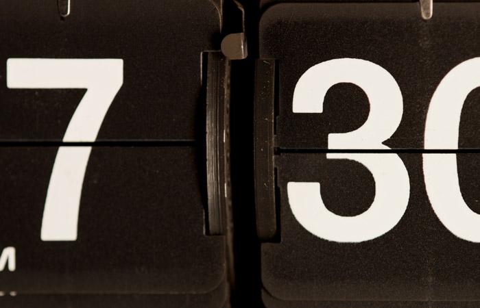 Flip Clock 40 – 7:30pm