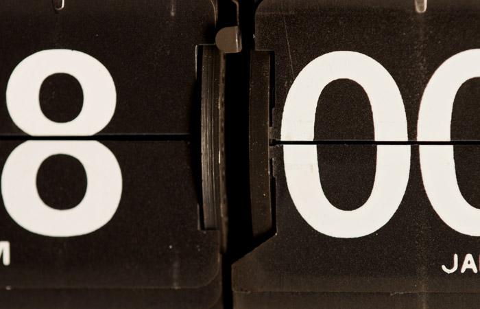 Flip Clock 41 – 8pm