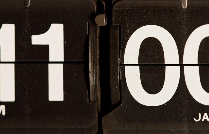 Flip Clock 47 – 11pm