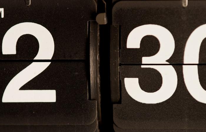 Flip Clock 6 – 2:30am
